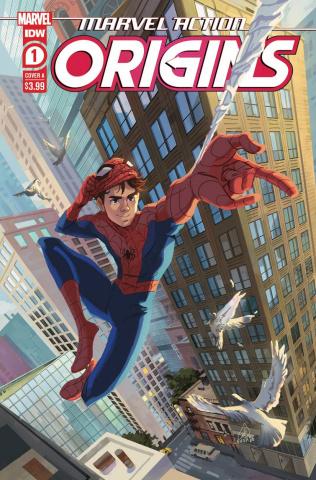 Marvel Action: Origins #1 (Souvanny Cover)