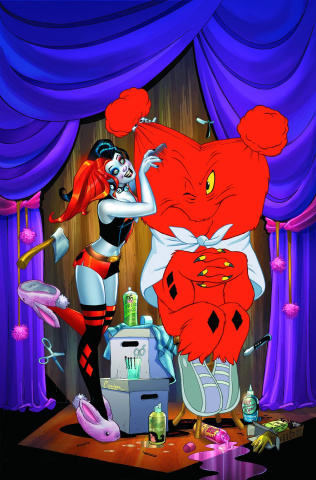 Harley Quinn #22 (Looney Tunes Cover)