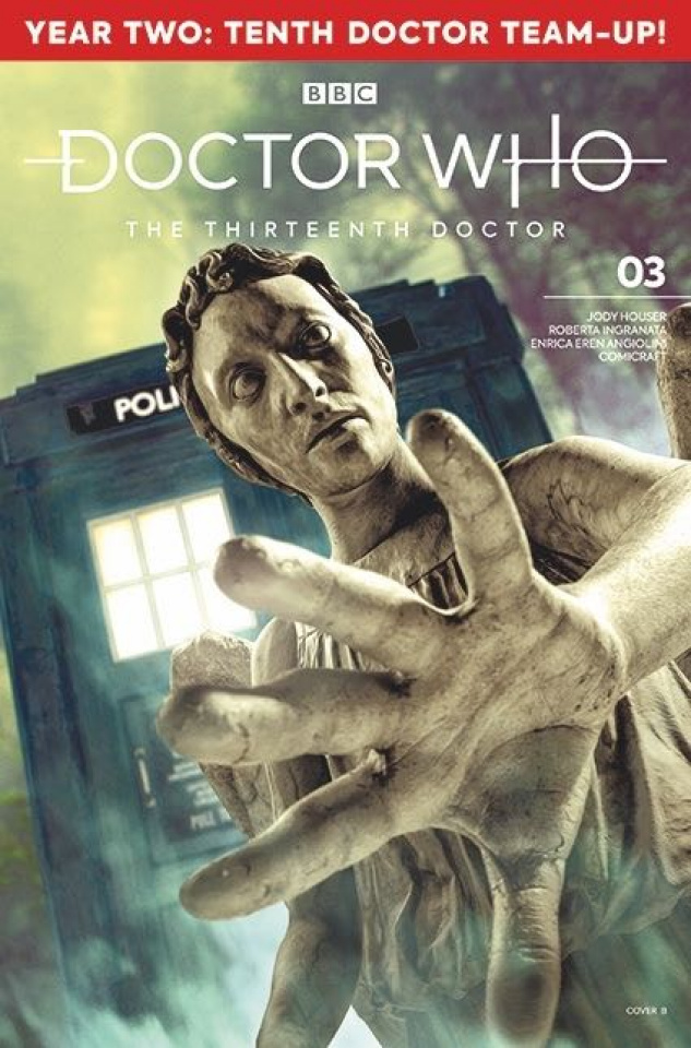Doctor Who: The Thirteenth Doctor, Season Two #3 (Photo Cover)