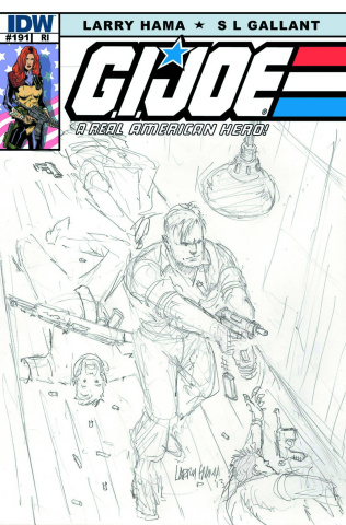 G.I. Joe: A Real American Hero #191 (10 Copy Cover)