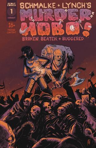 Murder Hobo! Beaten, Broken & Buggered #1 (10 Copy Cover)