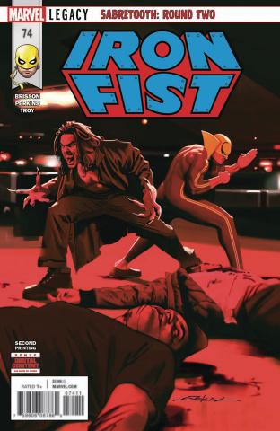Iron Fist #74 (2nd Printing)