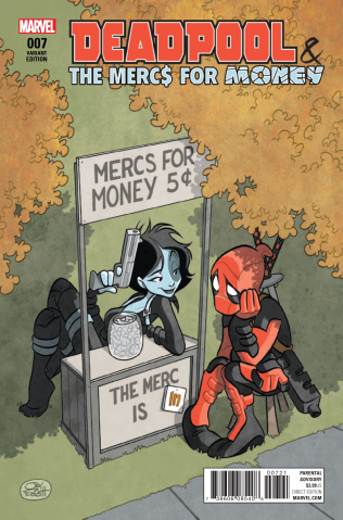 Deadpool and the Mercs For Money #7 (Fosgitt IvX Cover)