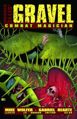 Gravel: Combat Magician #2 (Horror Cover)