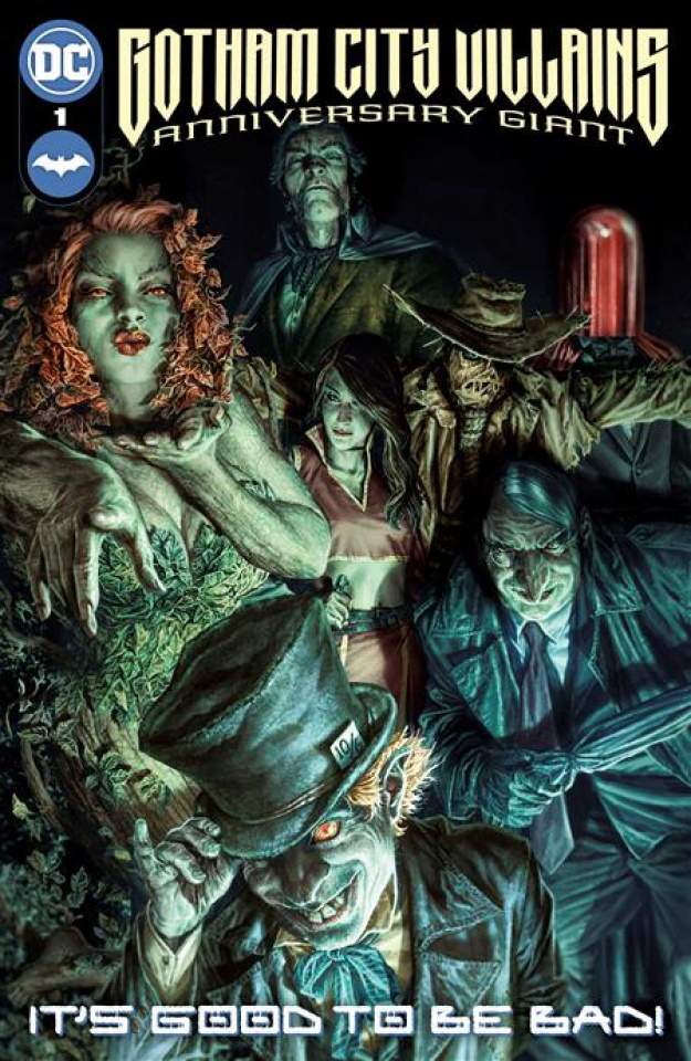 Gotham City Villains: Anniversary Giant #1 (Lee Bermejo Cover)