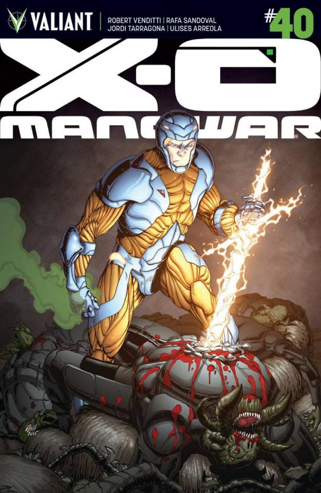 X-O Manowar #40 (20 Copy Gill Cover)