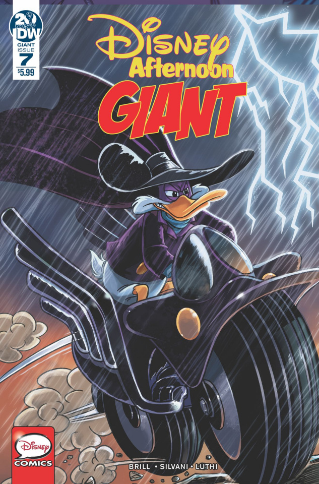 Disney Afternoon: Giant #7 (Magic Eye Studios Cover)