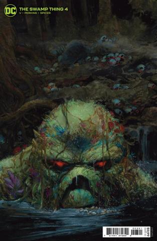 Swamp Thing #4 (Gerardo Zaffino Card Stock Cover)