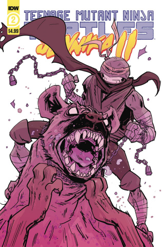 Teenage Mutant Ninja Turtles: Jennika II #2 (Revel Cover)