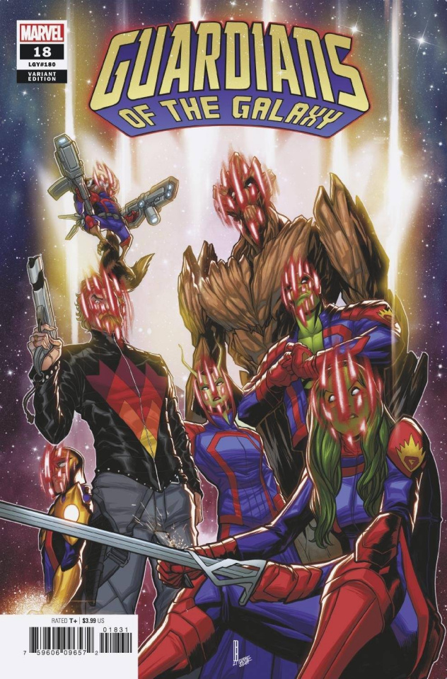 Guardians of the Galaxy #18 (Baldeon Cover)