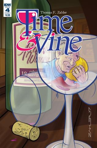 Time & Vine #4 (Zahler Cover)
