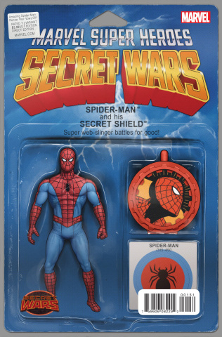 The Amazing Spider-Man: Renew Your Vows #1 (Action Figure Cover)