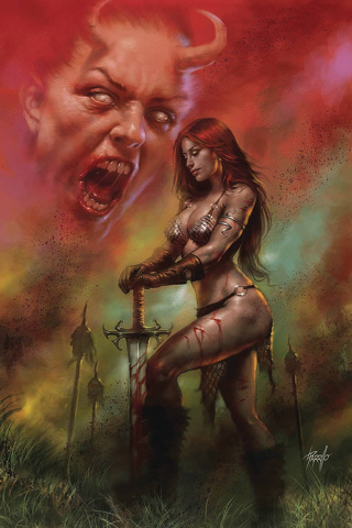 Red Sonja: Age of Chaos #6 (Parrillo Virgin Cover)