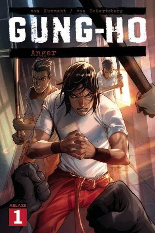 Gung-Ho: Anger #1 (Stephen Segovia Cover)