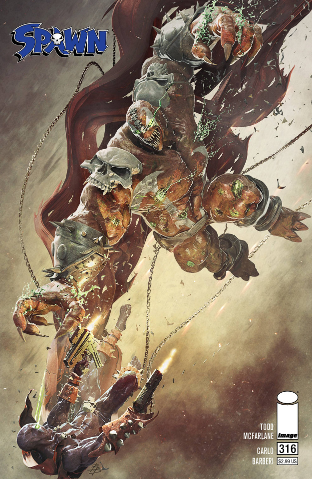 Spawn #316 (Barends Cover)