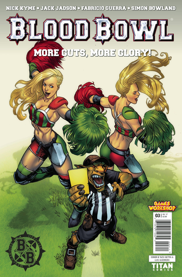 Blood Bowl: More Guts, More Glory! #3 (Bettin Cover)