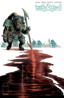 Tooth & Claw #2 (Dewey Cover)