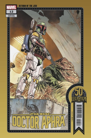 Star Wars: Doctor Aphra #12 (Sprouse Lucasfilm 50th Anniversary Cover)