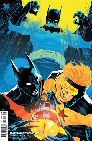 Batman Beyond #48 (Francis Manapul Cover)