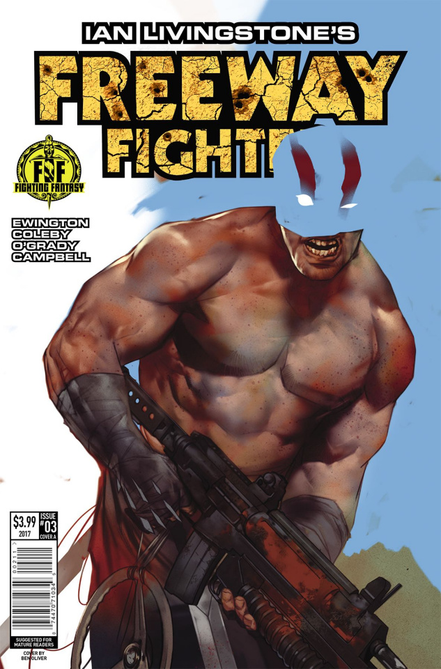 Freeway Fighter #3 (Oliver Cover)