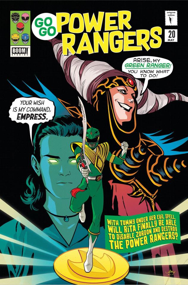 Go, Go, Power Rangers! #20 (Preorder Mok Cover)