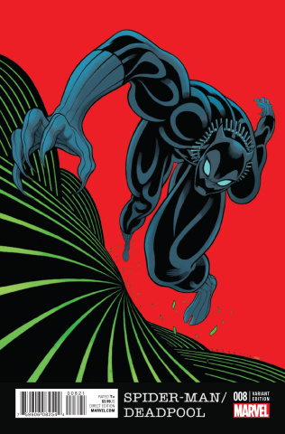 Spider-Man / Deadpool #8 (Moore Black Panther Cover)