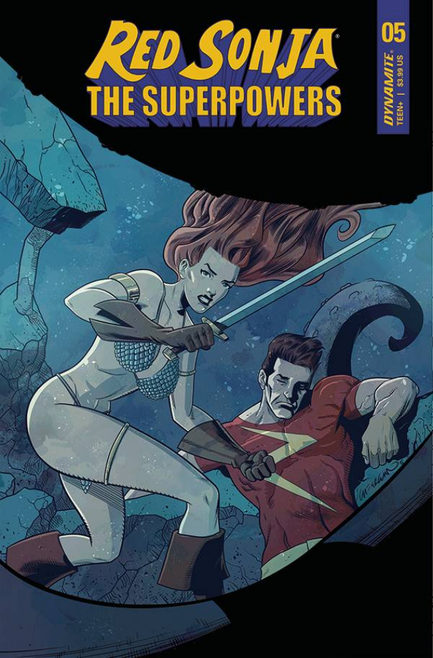 Red Sonja: The Superpowers #5 (Ferguson Cover)