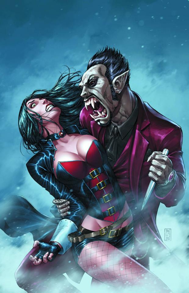 Grimm Fairy Tales: Van Helsing #4 (Miller Cover)