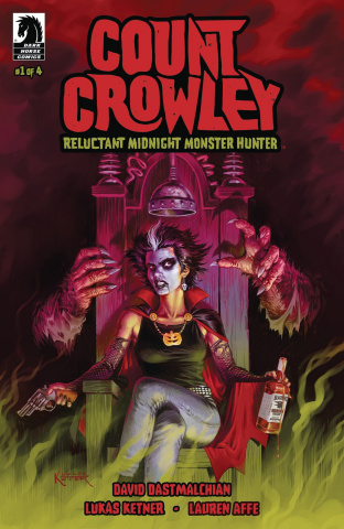 Count Crowley: Reluctant Midnight Monster Hunter #1
