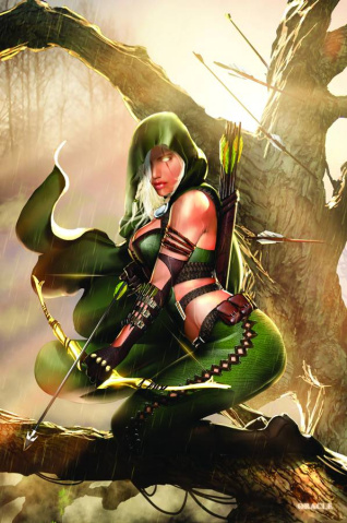 Grimm Fairy Tales: Robyn Hood - Wanted #5 (Oracle Cover)