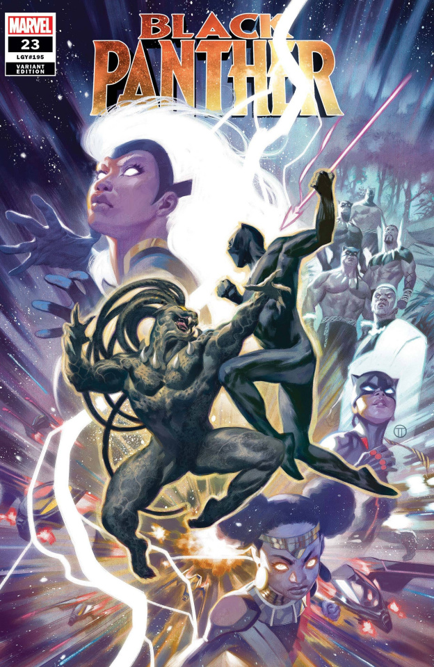 Black Panther #23 (Tedesco Cover)