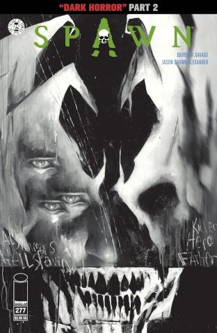 Spawn #277 (B&W Alexander Cover)
