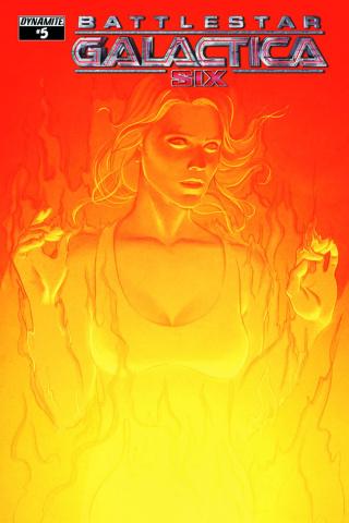 Battlestar Galactica: Six #5 (Frison Cover)