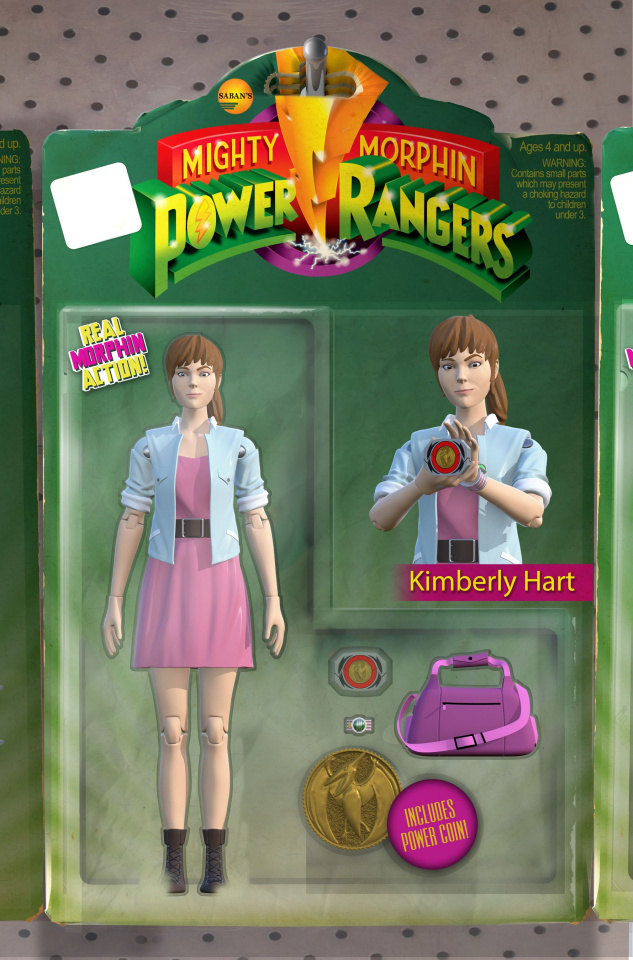 Mighty Morphin' Power Rangers #19 (Unlockable Action Figure Cover)