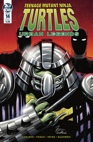 Teenage Mutant Ninja Turtles: Urban Legends #14 (Fosco Cover)