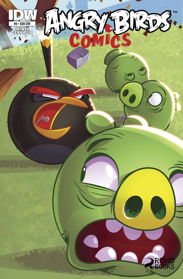 Angry Birds #8 (Subscription Cover)