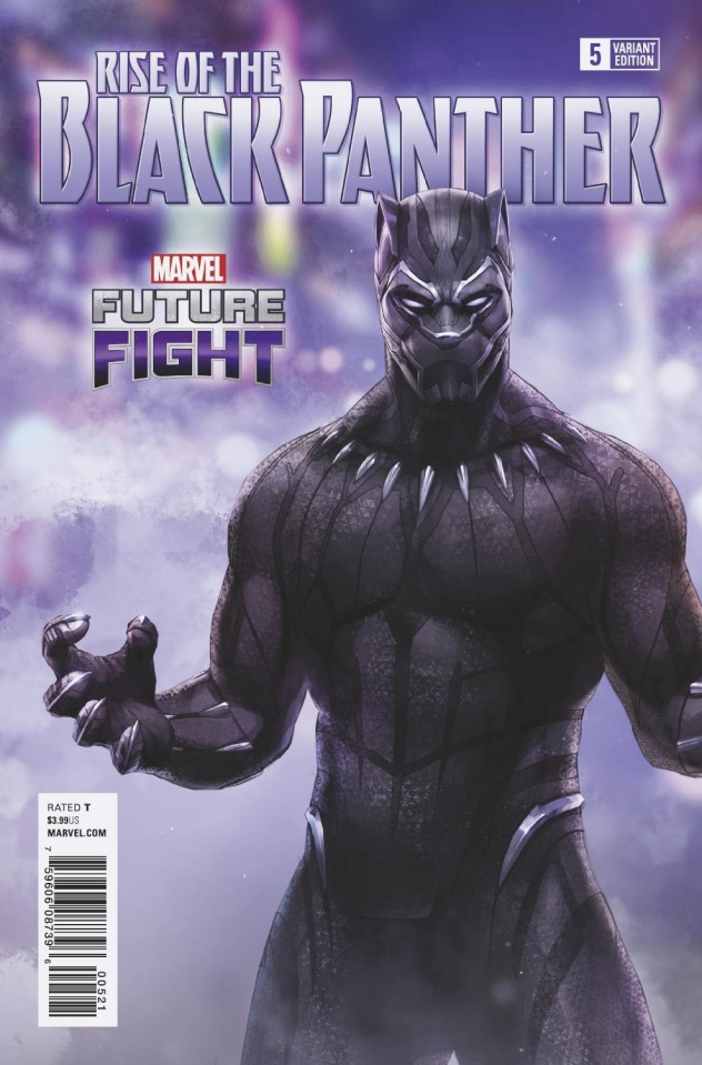 Rise of the Black Panther #5 (Game Cover)