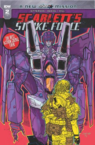Scarlett's Strike Force #2 (10 Copy Cover)