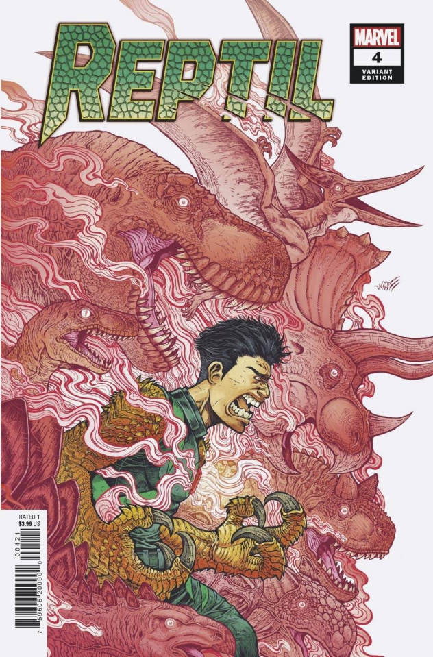 Reptil #4 (Wolf Cover)