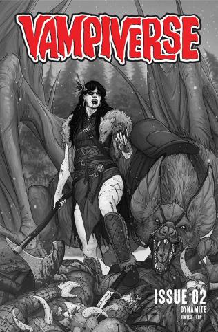 Vampiverse #2 (30 Copy Musabekov B&W Cover)
