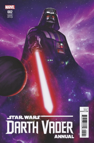 Star Wars: Darth Vader Annual #2 (Rahzzah Cover)