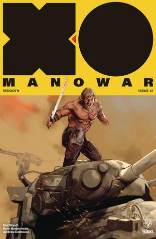 X-O Manowar #12 (50 Copy Icon Oliver Cover)