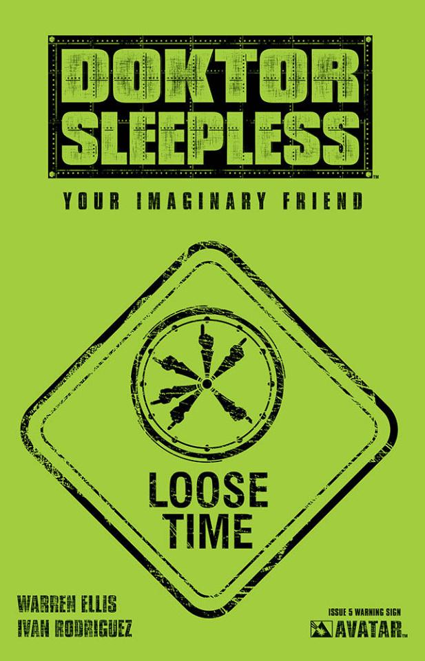 Doktor Sleepless #5 (Warning Sign Cover)