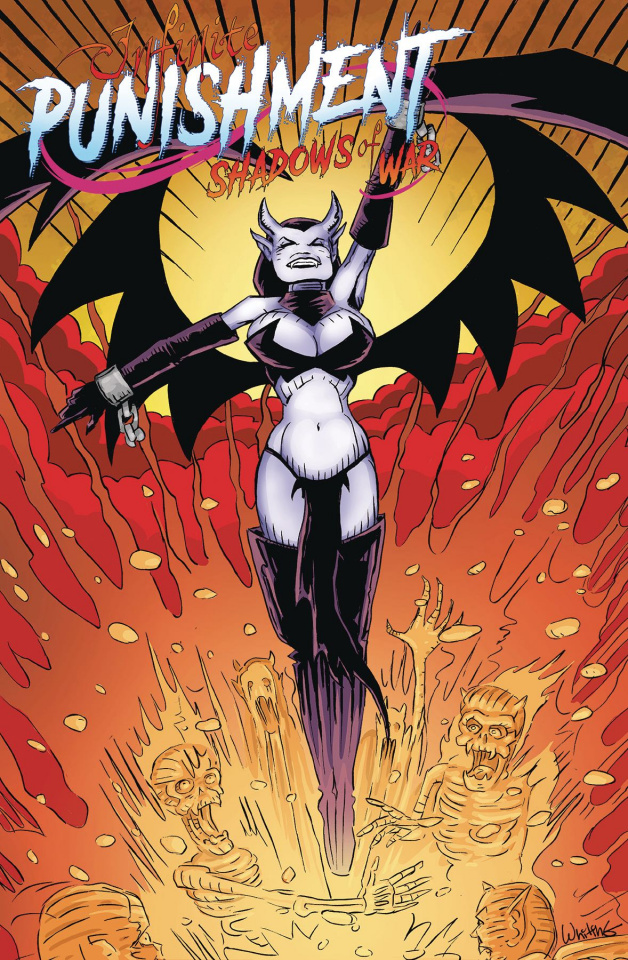 Infinite Punishment: Escape From Hell #3 (Jim Whiting Cover)