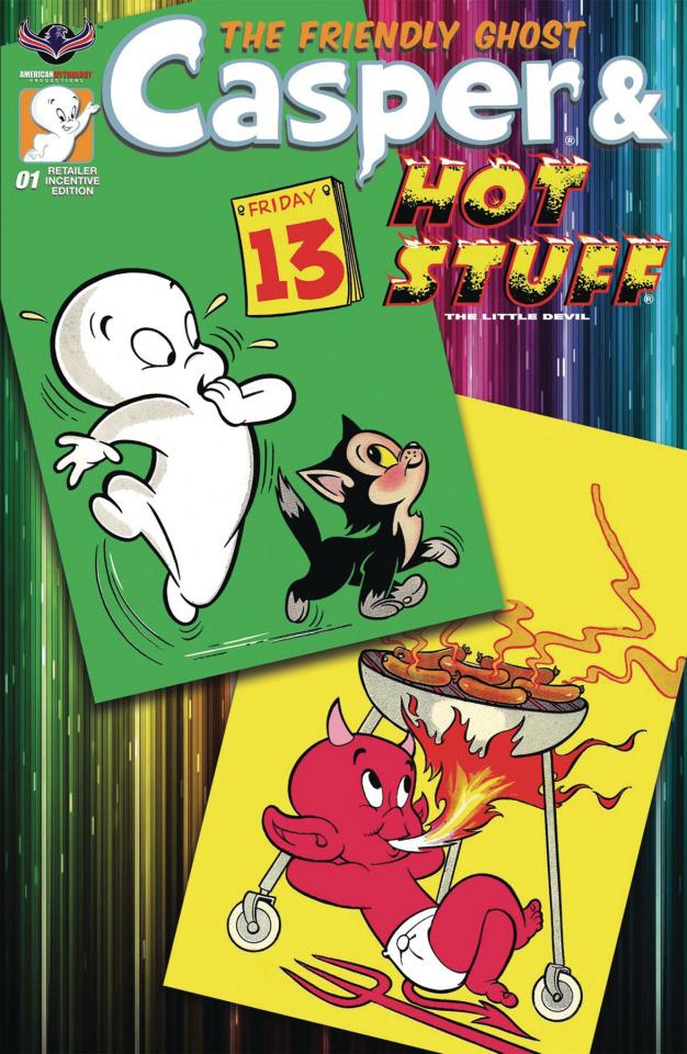 Casper & Hot Stuff #1 (Retro Animation Cover)
