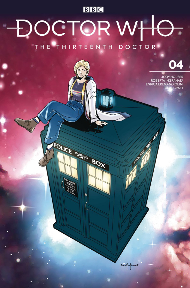 Doctor Who: The Thirteenth Doctor, Season Two #4 (Comicraft Cover)
