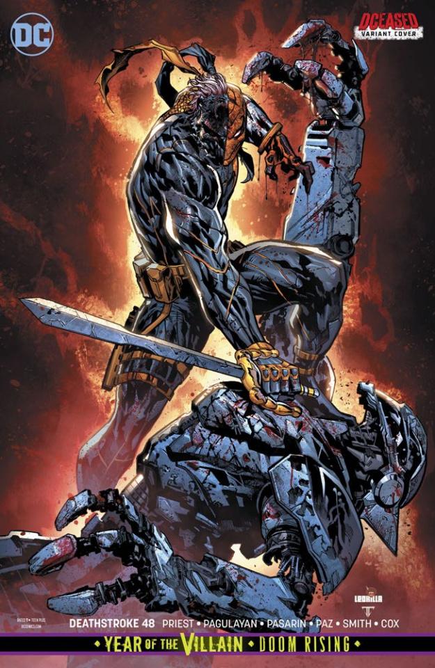 Deathstroke #48 (Year of the Villain)