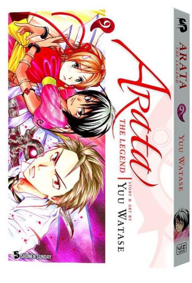 Arata: The Legend Vol. 9