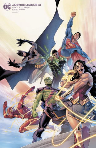Justice League #41 (Jamal Campbell Cover)