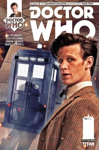 Doctor Who: New Adventures with the Eleventh Doctor, Year Two #6 (Brooks Subscription Photo Cover)